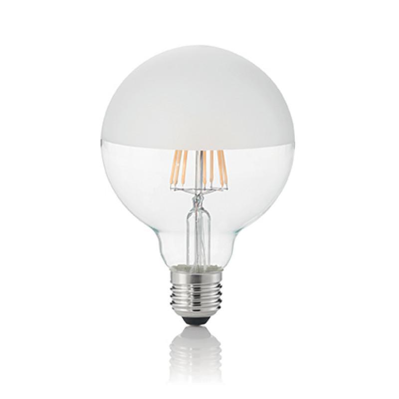 LED Bulb CLASSIC E27 8W GLOBO D95 SATINATA 3000K, ...