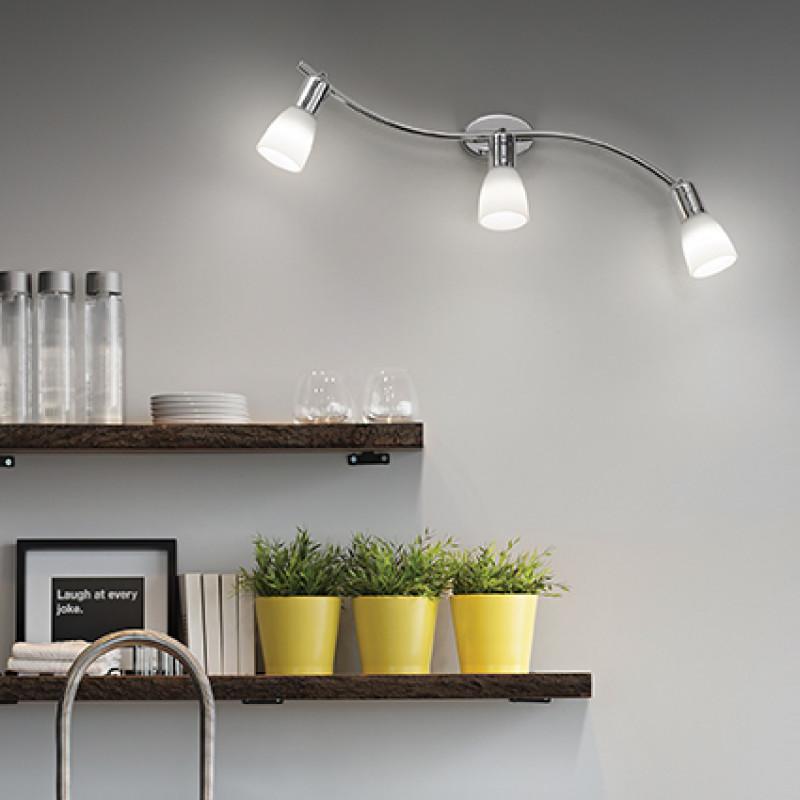 Wall lamp SNAKE AP3 White