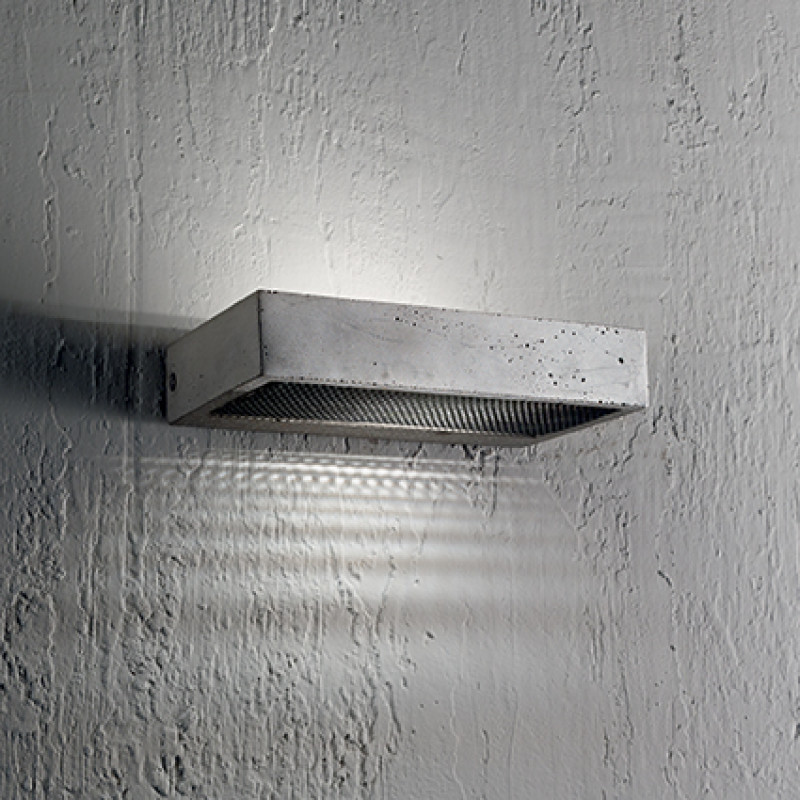 Wall lamp HYDRO AP1 Concrete