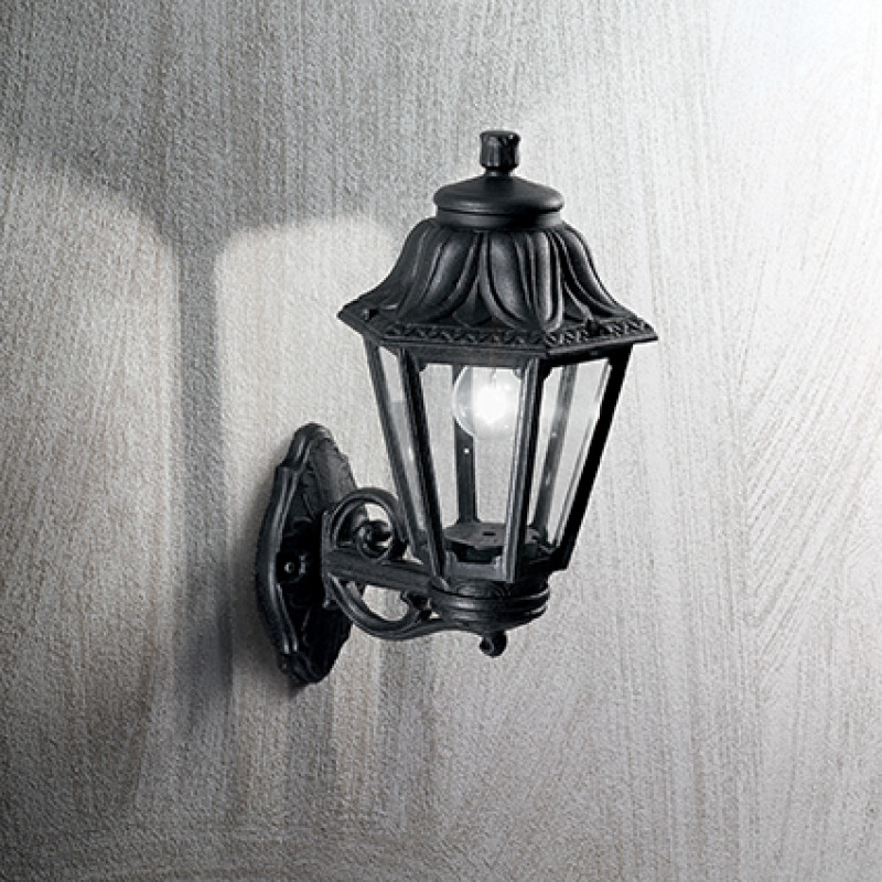 Ceiling - wall lamp ANNA AP1 Small Black