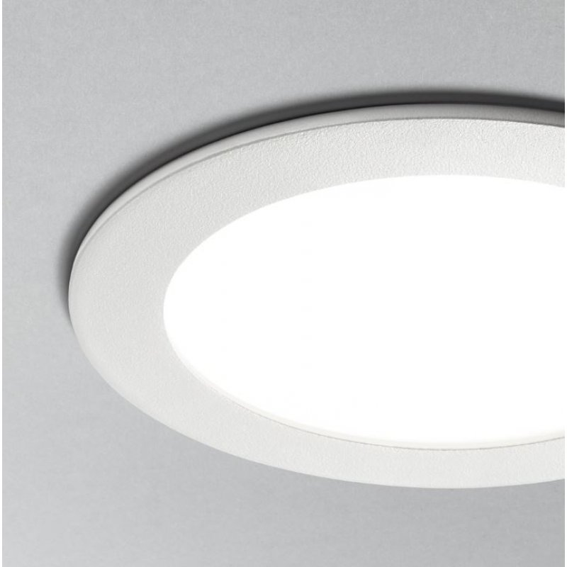 recessed lamp GROOVE 10W ROUND White