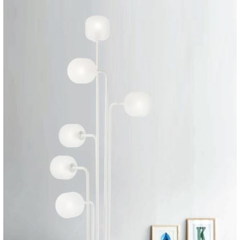 Floor lamp MALLOW PT6 White