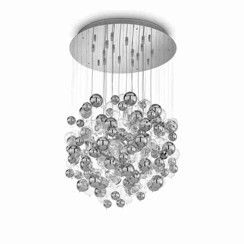 chandeliers BOLLICINE SP14 Cromo Ø 50 см