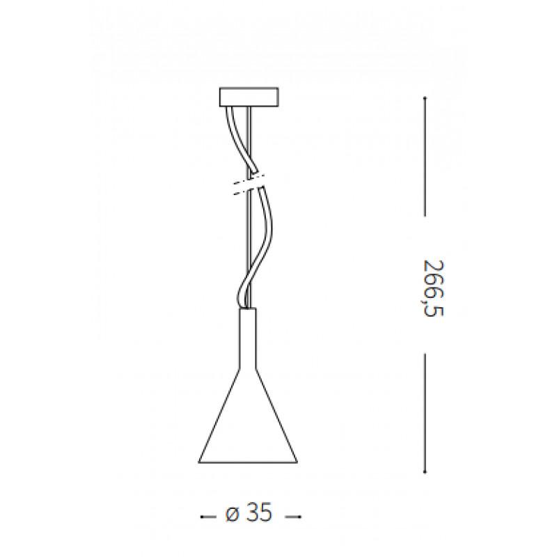 Pendant lamp COCKTAIL SP1 BIG Ø 35 cm