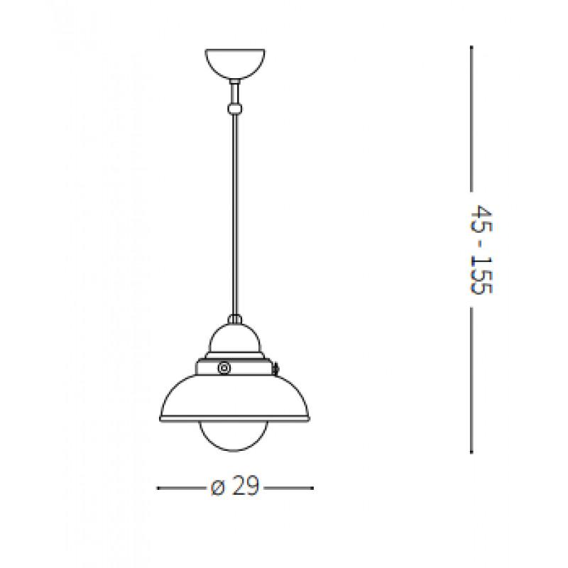 Pendant lamp SAILOR SP1 Ø 29 cm