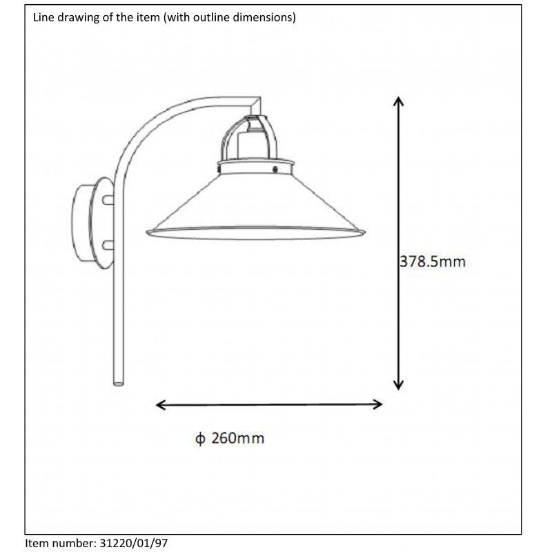 Wall lamp BERKLEY