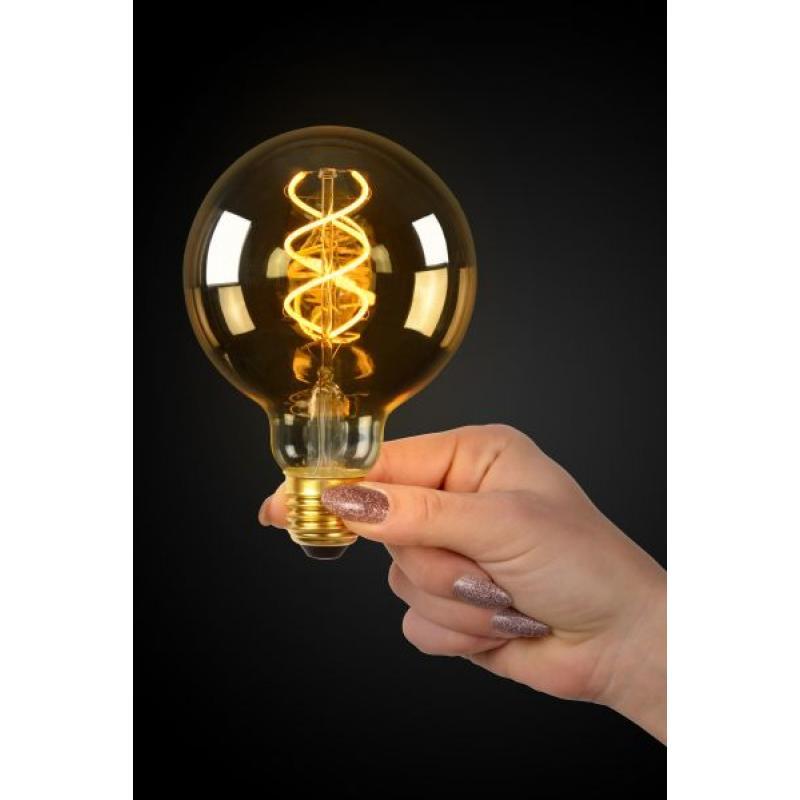 LED Bulb E27, Ø 9,5 cm