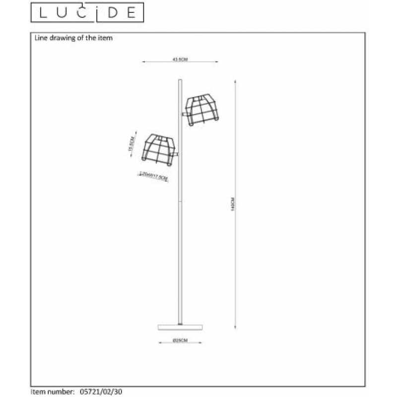Floor lamp GRID