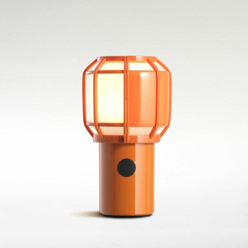 Table lamp Marset Chispa Orange