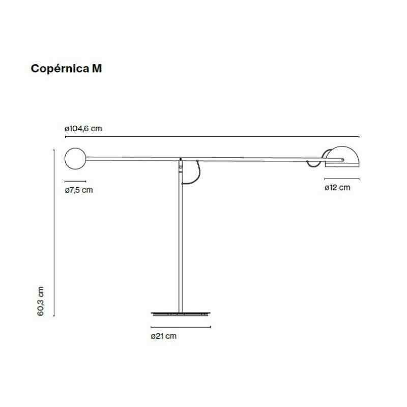 Table lamp COPERNICA M
