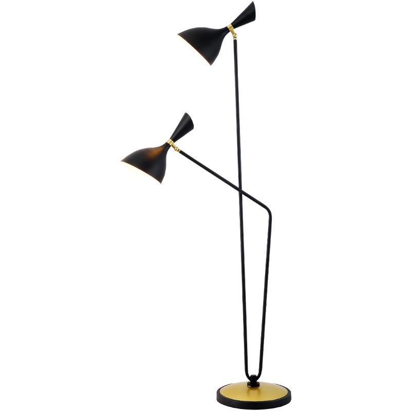Floor lamp Couple F BL