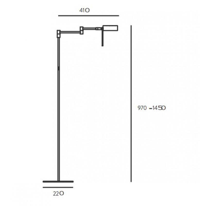 Floor lamp Leng