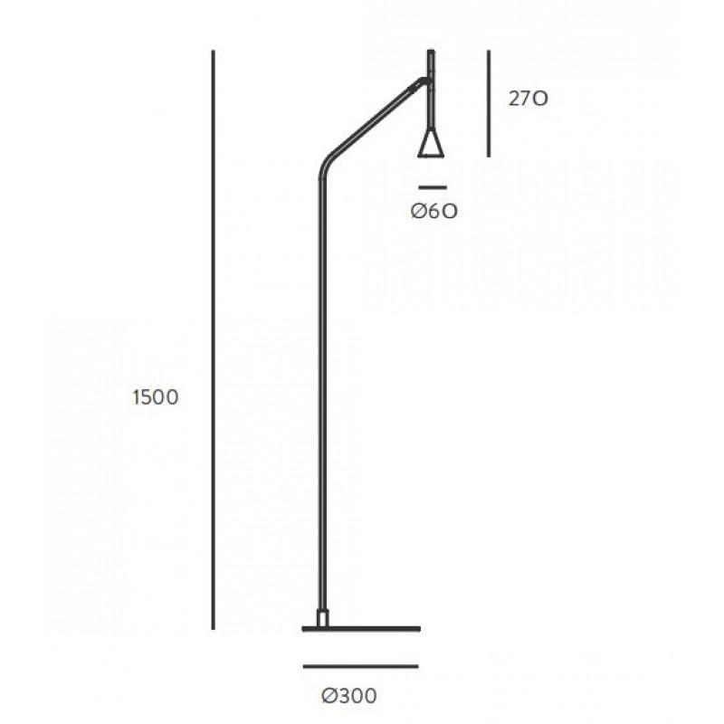 Floor lamp Lyb