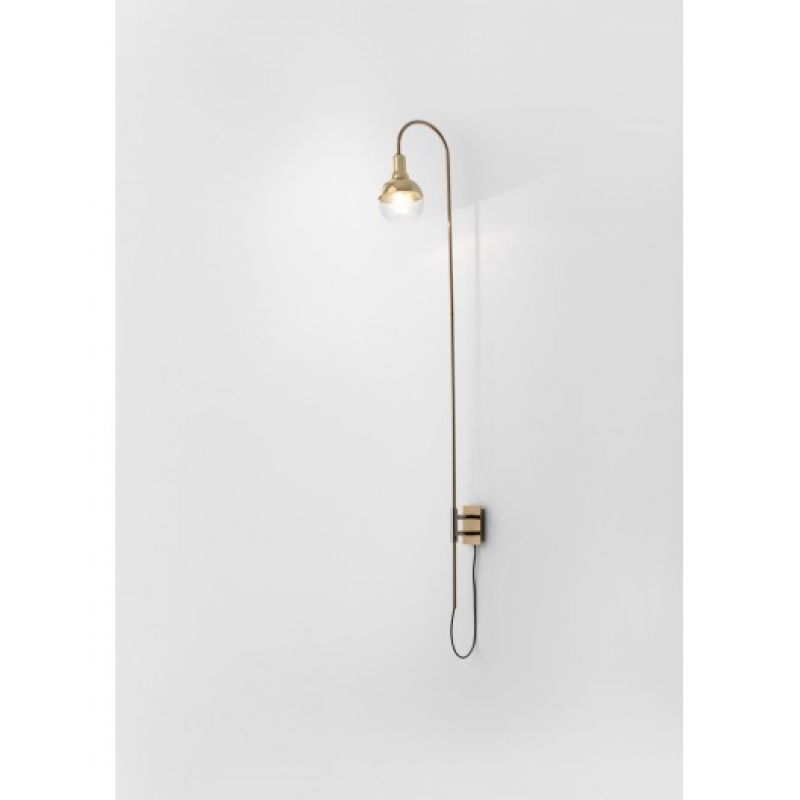 Wall lamp Helmet Curve