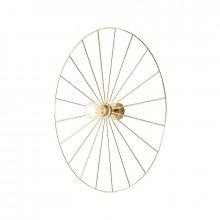 Настенная лампа Wheel Gold/Chrome