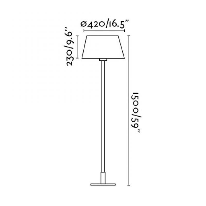 Floor lamp MITIC