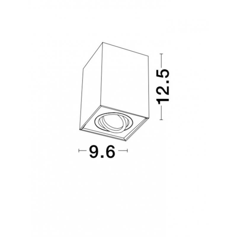 Surface lamp RENDE