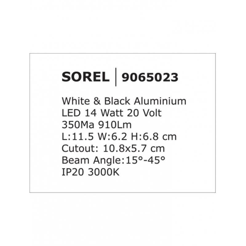 Recessed lamp SOREL
