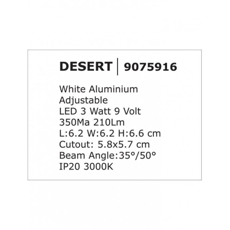 Recessed lamp DESERT