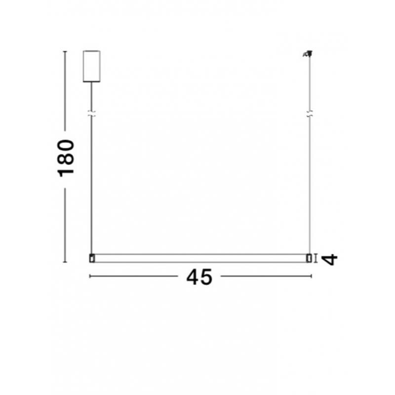 Pendant luminaires Orlando Ø 45 cm