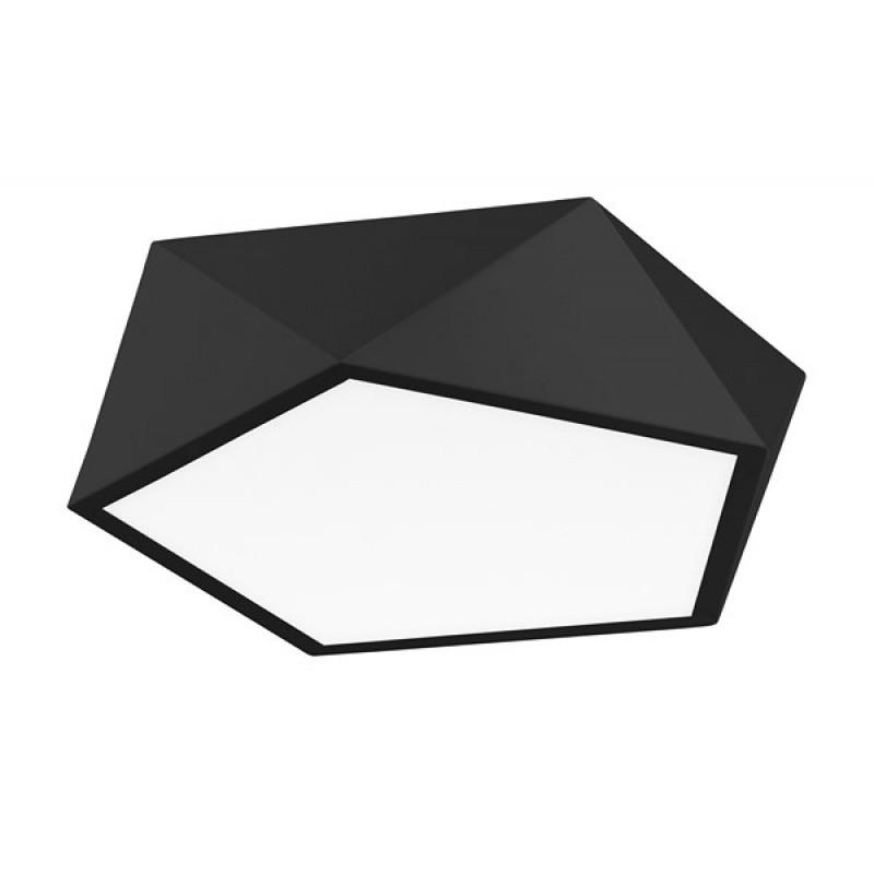 Ceiling lamp DARIUS Ø 40 cm Black