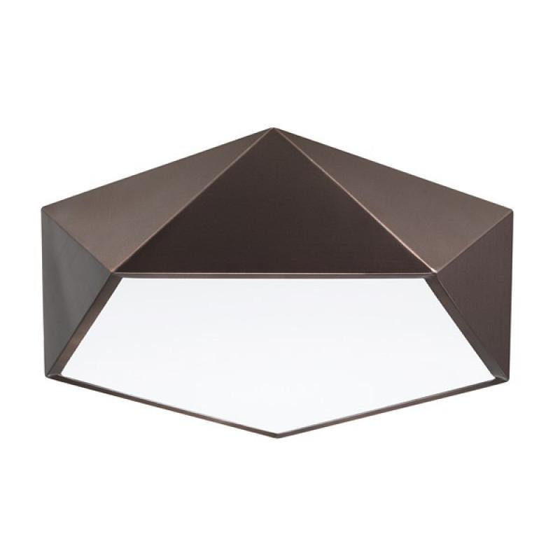 Ceiling lamp RAGU Ø 40 cm Brown