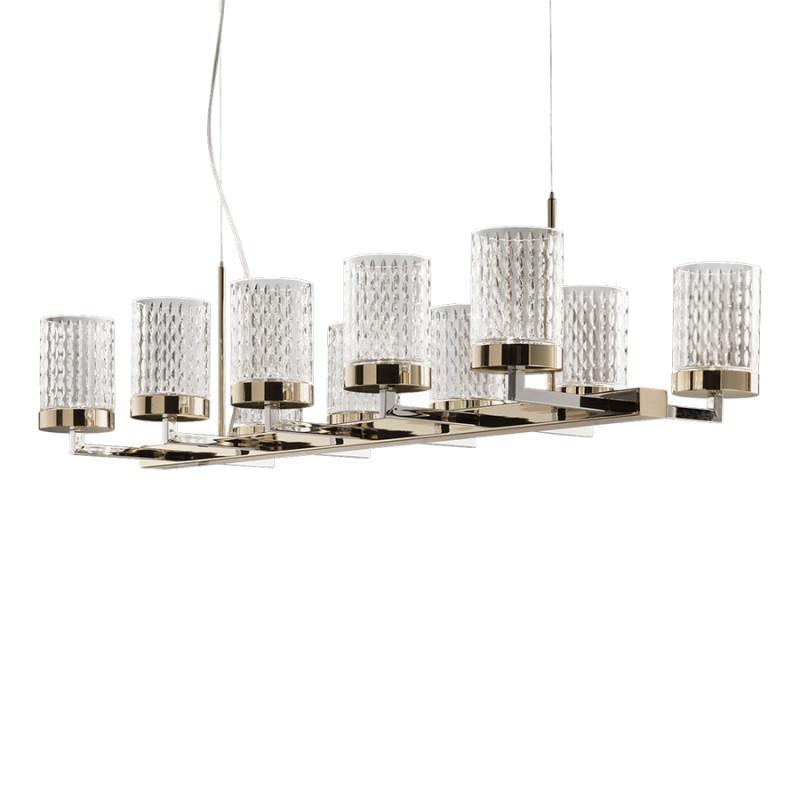 Pendant lamp Quarzo 725 / L10