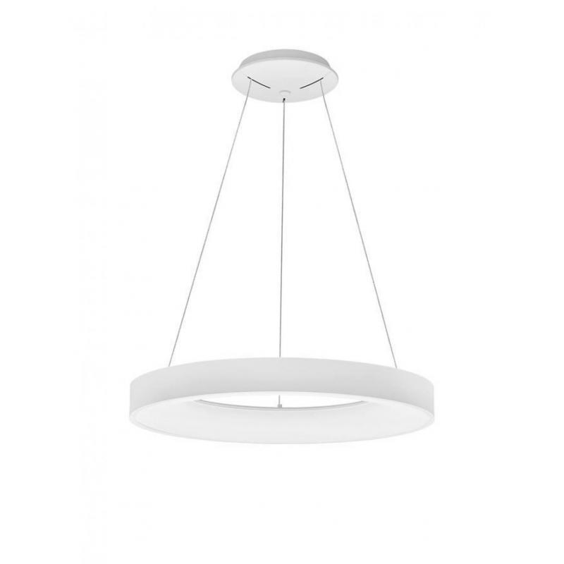Pendant lamp RANDO THIN Ø 60 см WHITE