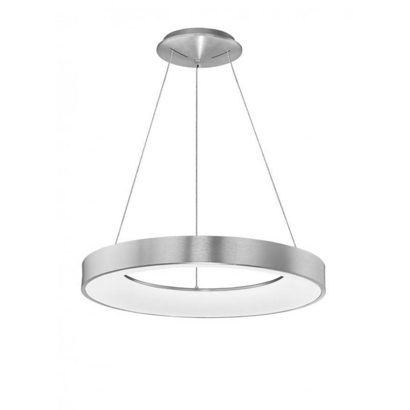 Pendant luminaires RANDO THIN Ø 60 cm Silver