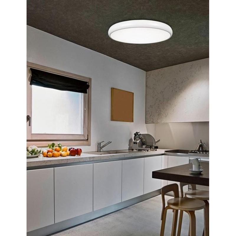 Ceiling lamp GAP Ø 51 cm WHITE