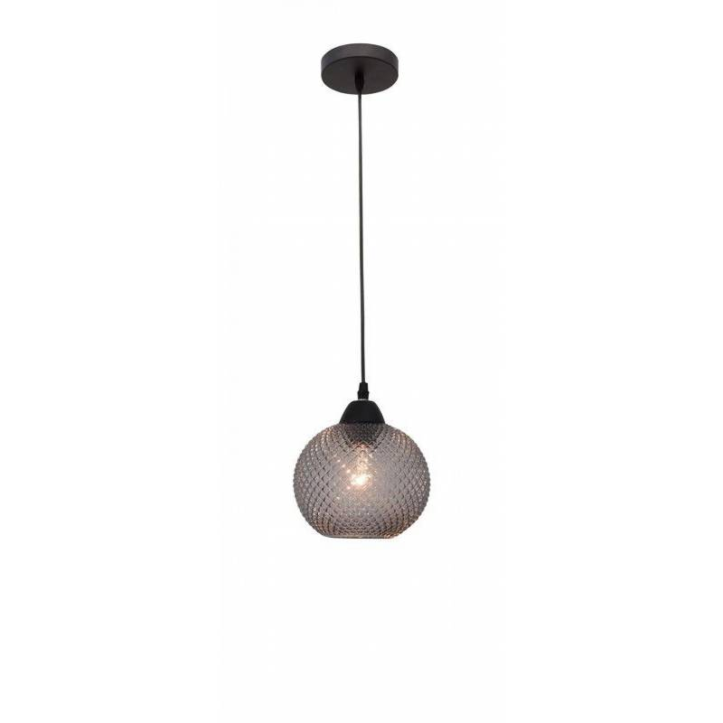 Pendant lamp VIENTI Dark Gray Ø 18 cm