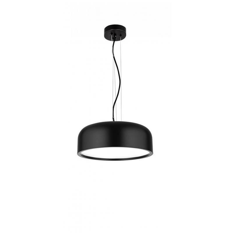 Pendant lamp PERLETO Ø 35 cm Black