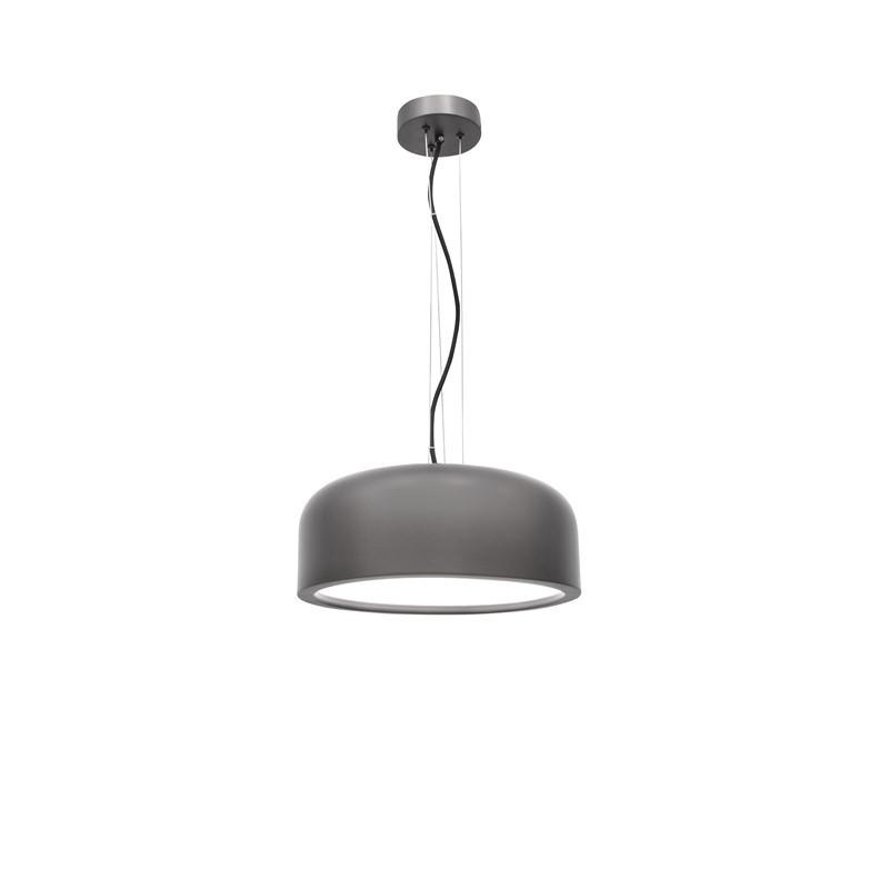 Pendant lamp PERLETO Ø 35 cm Gray