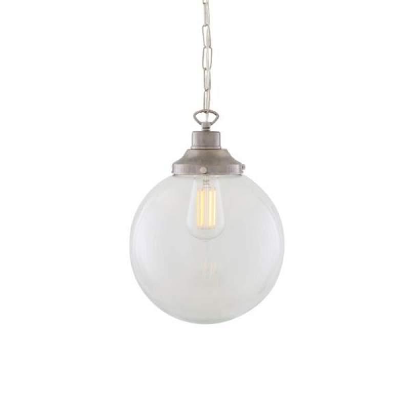 Pendant lamp RIAD CLEAR GLASS GLOBE
