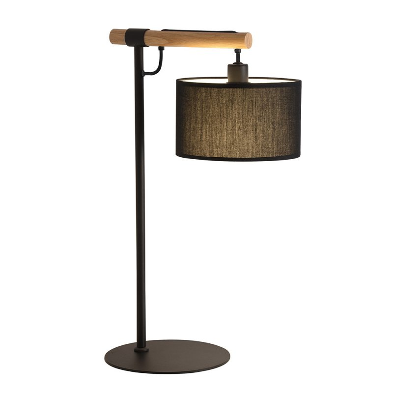 Table lamp Viokef Black Romeo