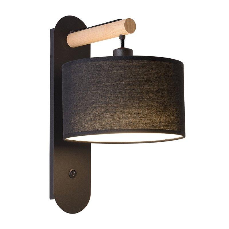 Wall lamp Viokef Black Romeo