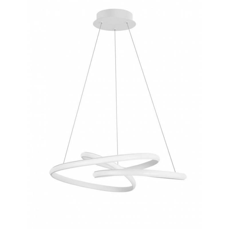 Pendant luminaires MENTON White Ø 52 cm