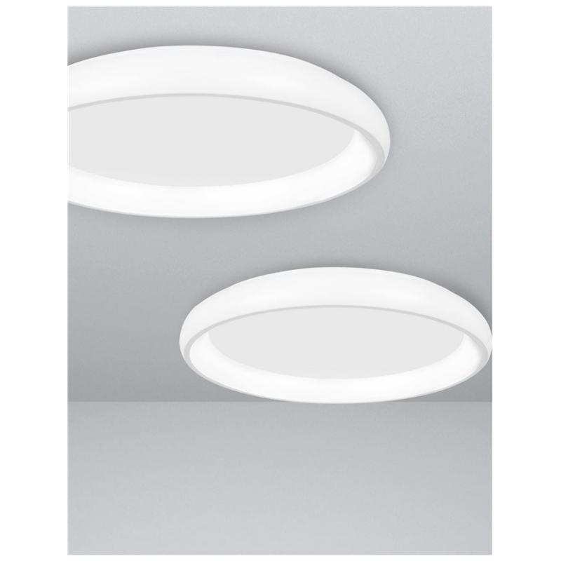 Ceiling lamp ALBI Ø 61 cm WHITE