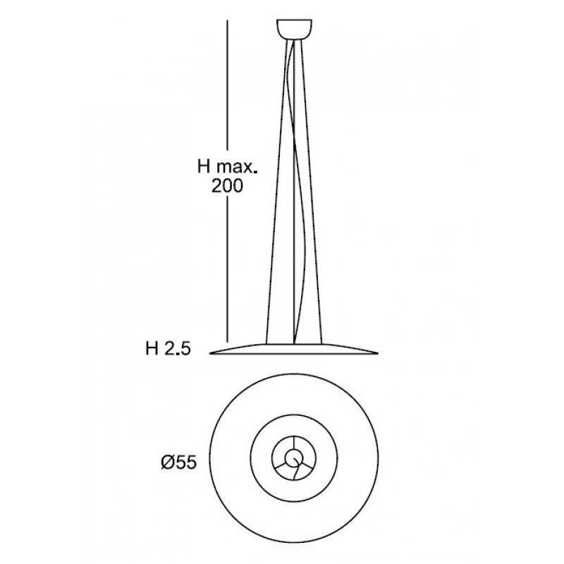 Pendant lamp C24623/55N