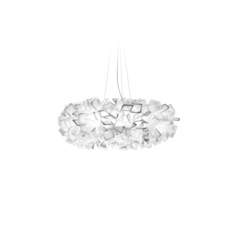 Pendant lamp CLIZIA White Large