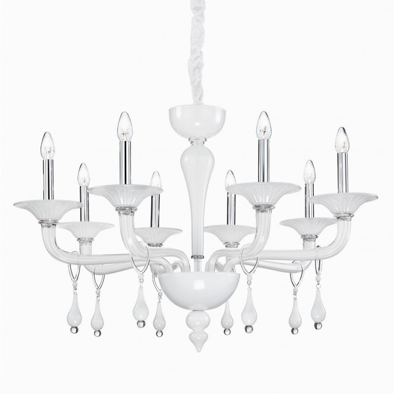 Chandelier MIRAMARE SP8 White